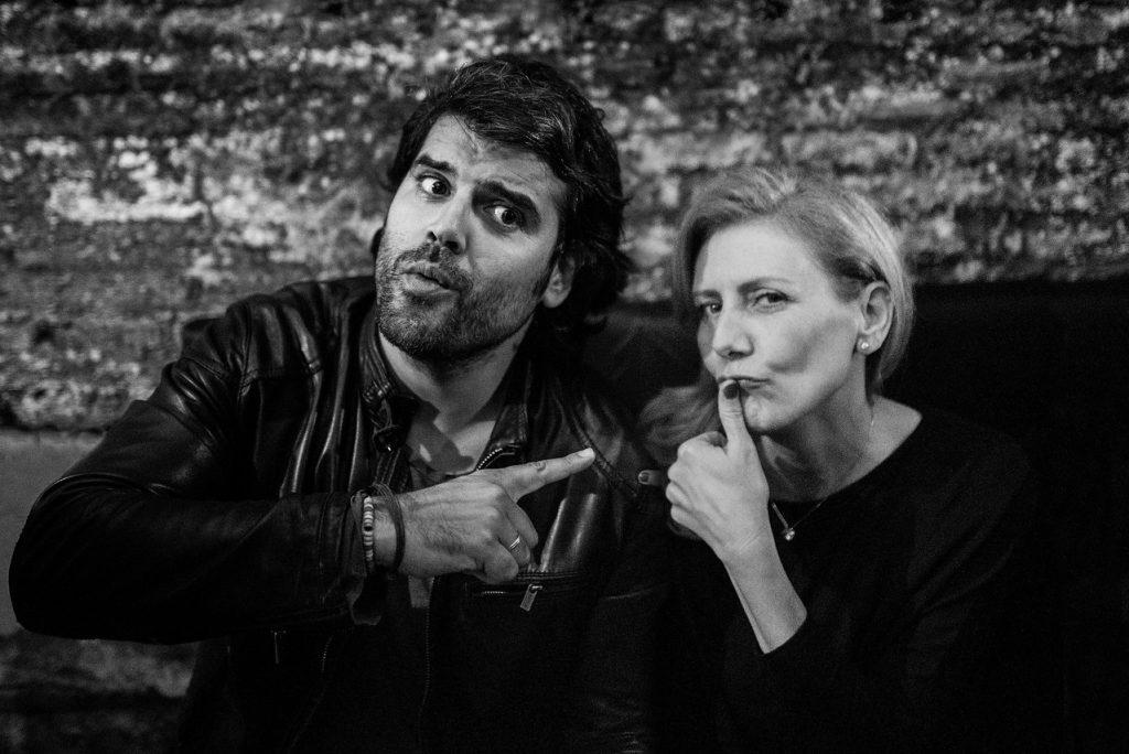 Ana Flórez de Quiñones y Jose Salto, fotógrafo independiente y colaborador de AFDQ Hospitality Consulting Services